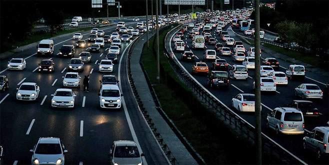 Araç sayısı 22 milyonu aştı
