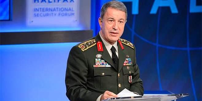 Orgeneral Akar, Rus mevkidaşı ile görüştü