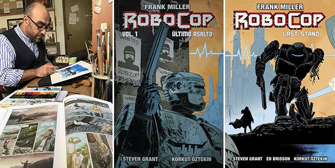 RoboCop'un çizeri yeniden dünya sahnesinde
