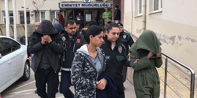 Bursa'da uyuşturucu operasyonları: 9 gözaltı