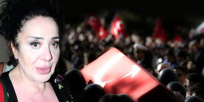 Şehitlere dil uzatan modacı, Türk halkının karşısına çıkacak