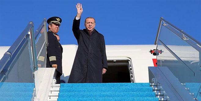 Cumhurbaşkanı Erdoğan Yunanistan'dan ayrıldı