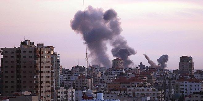 İsrail Gazze'ye 3 hava saldırısı daha düzenledi