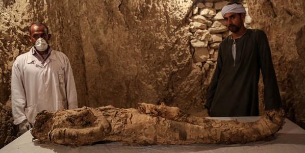 Mısır'da inanılmaz keşif! Tam 3500 yaşında
