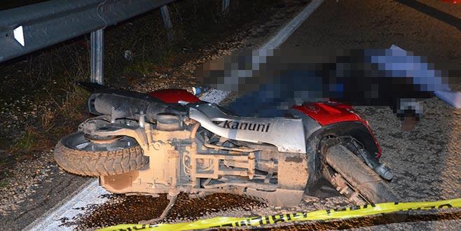 Bursa'da otomobil ile motosiklet çarpıştı: 1 ölü