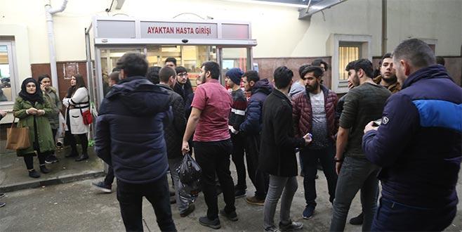 473 öğrenci zehirlenme şüphesiyle hastaneye başvurdu