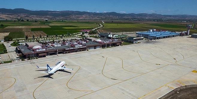 Yenişehir Havalimanı'ndaki sefer iptallerine çare bulundu