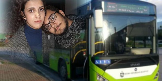Otobüste sevgilisi başını omzuna koydu diye yumruk yedi