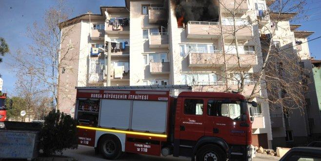 Orhangazi'de korkutan yangın