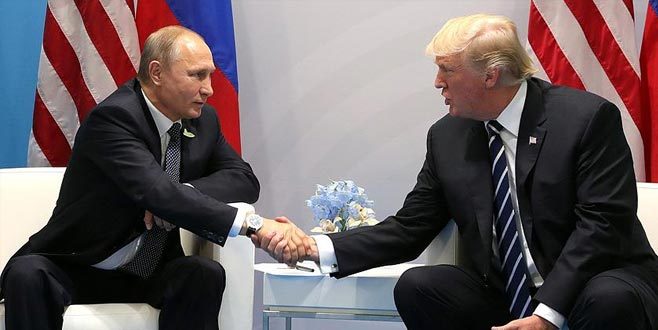 Putin'ten Trump'a teşekkür