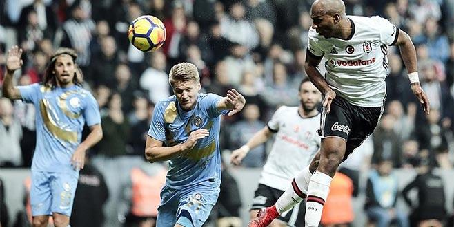 Beşiktaş sahasında farklı galip