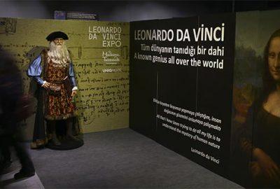 Da Vinci sergisi İstanbul'da