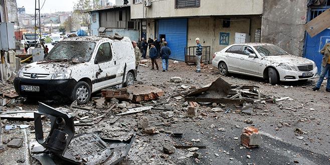 Buhar kazanı bomba gibi patladı, ortalık savaş alanına döndü