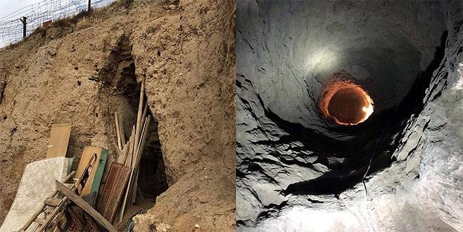 7 metre uzunluğundaki tünelin sırrı çözüldü