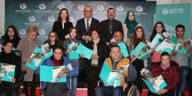 Kosova'da engellilere eğitim