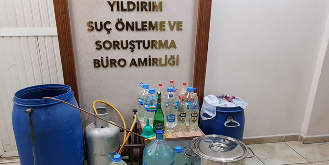 Yılbaşı öncesi Bursa'da operasyon!