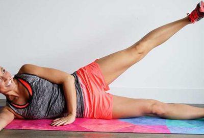 Bacaklarınızı 3 dakikada inceltecek hareketler