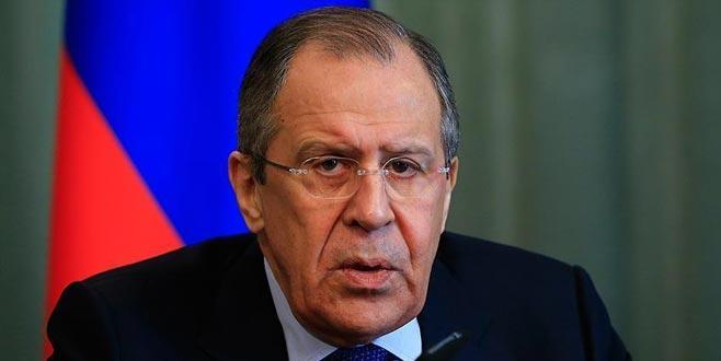 Lavrov: Suriye'de asıl amaç, El Nusra'yı yok etmek