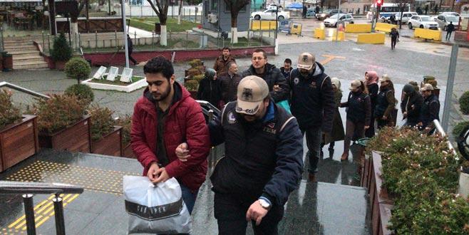 Bursa'da Bylock kullanıcısı 5 kişi adliyeye sevk edildi