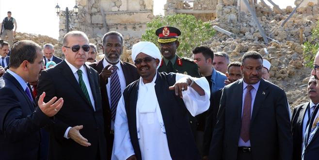 Sudan Cumhurbaşkanı El Beşir Sevakin Adası'nı Türkiye'ye verdi!
