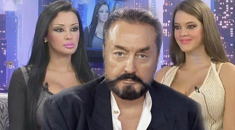 Çağatay Ulusoy'un gözdesi, Adnan Oktar'ın programına katılmış