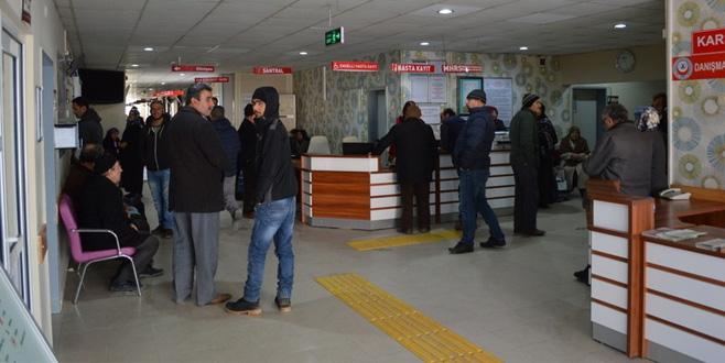 Yenişehir Devlet Hastanesi 221 bin hastaya baktı