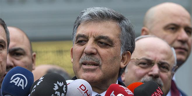 Abdullah Gül'den KHK eleştirisi hakkında açıklama