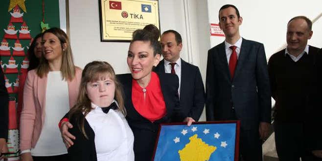 Kosova'daki engellilere TİKA'dan destek
