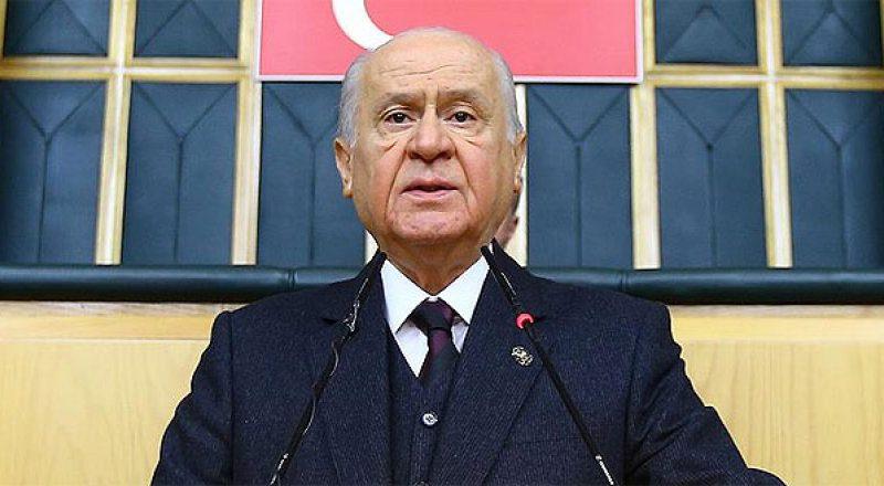 MHP Lideri Bahçeli; İrade milletin, karar hukukundur…