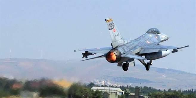 Kandil ve Asos bölgelerine hava harekatı