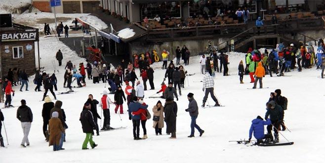 Uludağ'da kar kalınlığı 88 santimetre