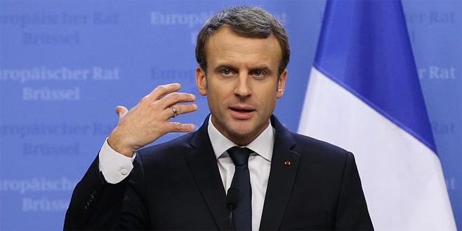 Macron'dan ABD, İsrail ve Suudi Arabistan'a 'İran' eleştirisi