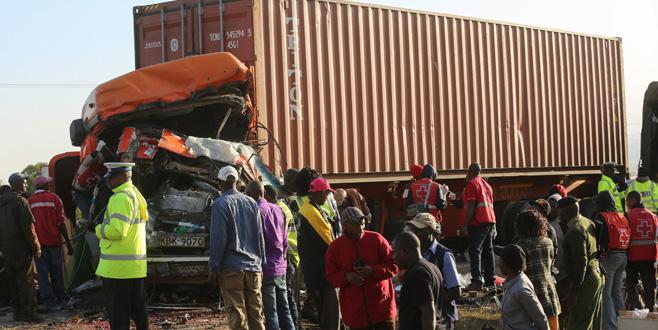Kenya'da feci kaza: 36 ölü