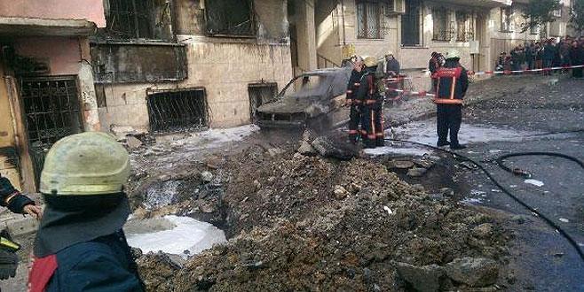 İstanbul'da doğalgaz patlaması