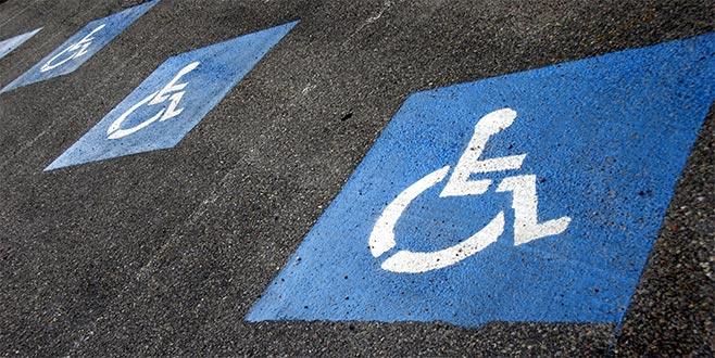 Engelli otoparkları sadece engelli vatandaşlara aittir