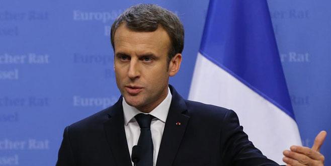 Macron: Türkiye ile terörle mücadeleyi birlikte sürdüreceğiz