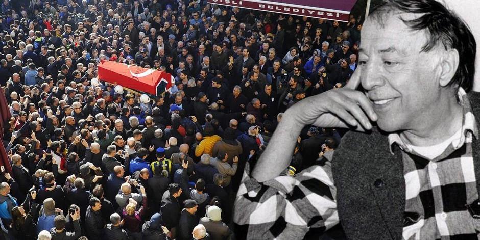 Münir Özkul'a veda! Güle güle Mahmut Hoca, güle güle Yaşar Usta…