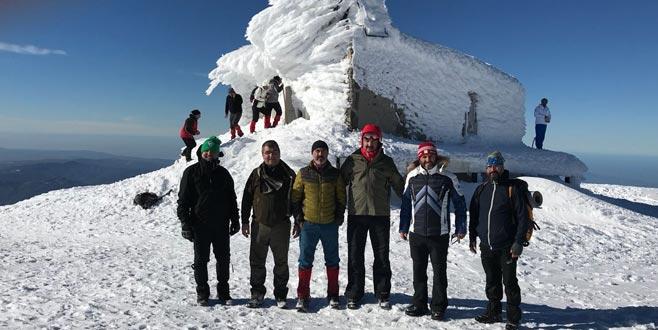 2500 metrede dağcıların sıkıntıları konuşuldu