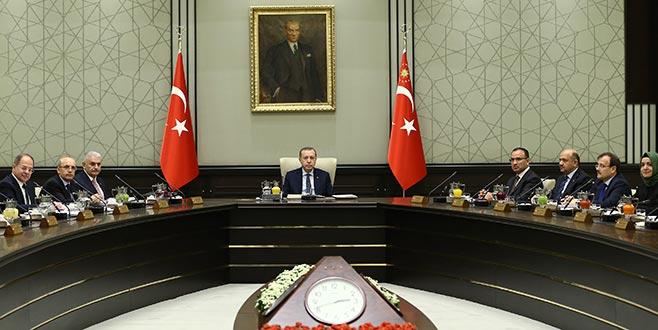 Beştepe'de yılın ilk Bakanlar Kurulu toplantısı