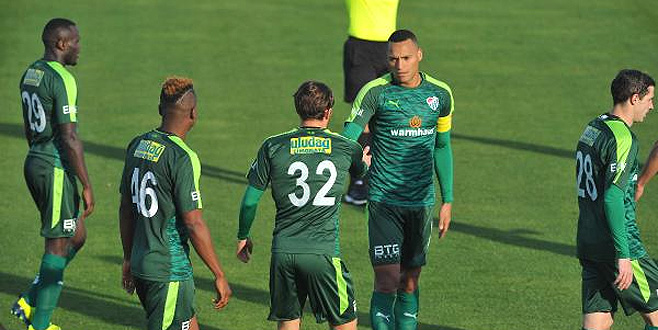 Bursaspor hazırlık maçında Skenderbeu'yu 3-0 yendi