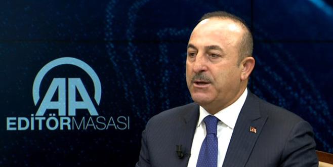 Çavuşoğlu: Rusya ve İran Esed rejimini durdurmalı
