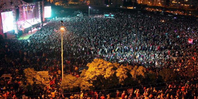 Bursa'da gösteri ve yürüyüş alanları değişmedi