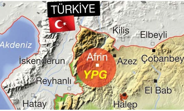 TSK, Afrin kuşatması için hazır durumda