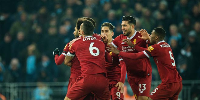 Liverpool, Manchester City'nin apoletini söktü!