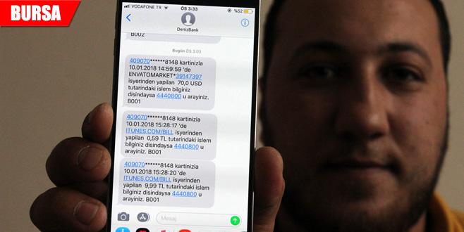 İnternetten 7 liraya aldığı paket 3 bin 843 lira olarak geri döndü
