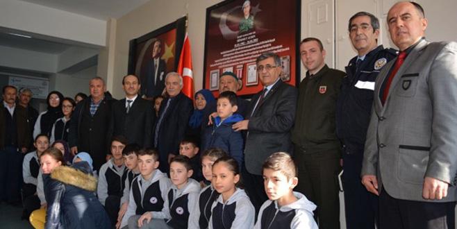 Bursa'da şehidin ismi okula verildi