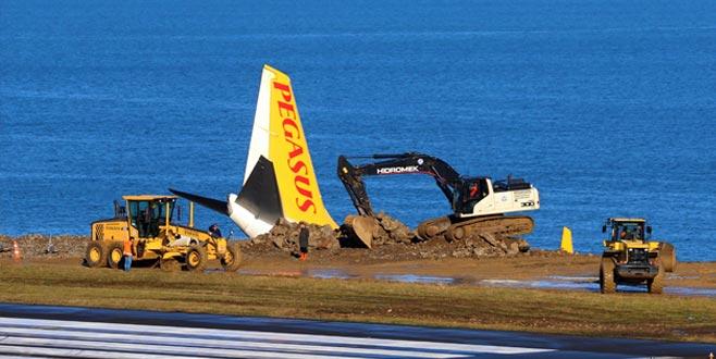Bakanlıktan pistten çıkan uçakla ilgili açıklama