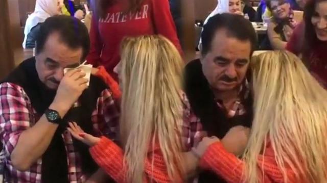 İbrahim Tatlıses'i hüngür hüngür ağlatan kadın!