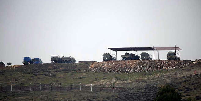 Afrin sınırına 'Kayı' güvenlik sistemi