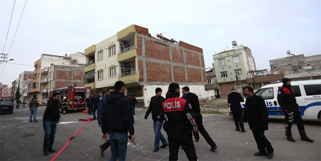 Afrin'den ateşlenen 3 roket Hatay'a düştü